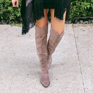 Report Over The Knee Boots